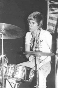 a very young duff mckagan (late 70s early 80s)