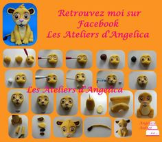 how to make fondant lion king characters