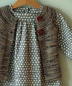 Ravelry: AliciaPaulson's Plain Vest  I love Alicia Paulson's little outfits. I could make a whole board of her beautiful handwork