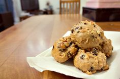 Oatmeal Cranberry Choc-chip cookies