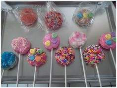 (Day 5) Marshmallows Lollipops Valentine's Day / (Día 5) Paletas de Malvaviscos San Valentín - YouTube