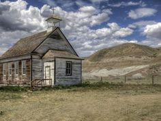 The Abandoned Catholic Church in the Alberta Badlands at Dorothy Photographic…
