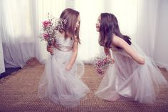 Anna Campbell Flowergirls Collection - Polka Dot Bride