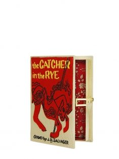 The Catcher Mini Clutch bag: only if you're super rich and super love a person who super loves TheCatcher in the Rye