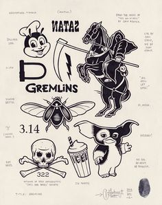 This is the work of Los Angeles based artist Mike Grant. This series is called Modern Hieroglyphics, all the illustrations are hand done and sold out, which