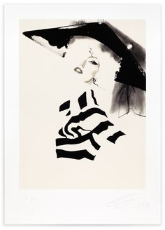 David Downton, Dior Couture A/W 2009 (2), 2011. Limited Edition FIG Print. Signed and numbered by the artist. Price subject to currency exchange rate at the time of ordering. $575.00.