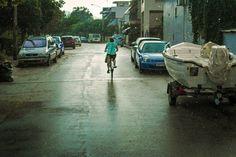 Bike in the street!