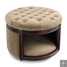 Maybe I can modify a storage ottoman to look like this? I'm not paying this much!