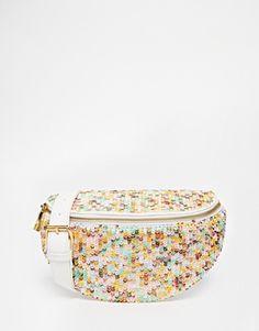 ASOS Embellished Mermaid Bum Bag