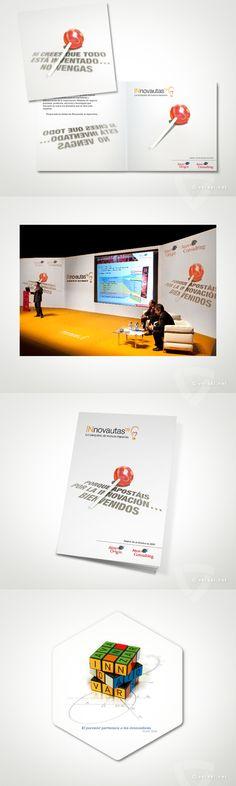 INnovautas'09 -   Evento de Innovación (Atos Origin)  - www.versal.net • Diseño Gráfico • Identidad Visual Corporativa • Publicidad • Diseño Páginas Web • Ilustración • Graphic Design • Corporate Identity • Advertising • Web Pages • Illustration • Logo