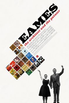 Eames the architect. Directed by Jason Cohn, Bill Jersey. With Charles Eames, Ray Eames, James Franco, Jeannine Oppewall. Ray Eames is a total badass. Charles Eames, Ray Charles, Technique Photo, Design Editorial, Best Movie Posters, Graphic Design Inspiration, Layout Inspiration, Lovers Art, Good Movies