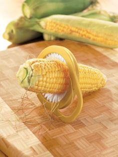 Corn Silk Remover - Corn On The Cob Brush   Solutions
