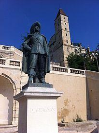 Auch - Statue of d'Artagnan - Gers dept. - Midi-Pyrénées région, France        ...fr.wikipedia.org