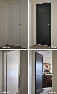 Door Refresh Before and After