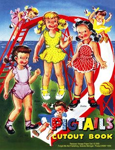 Paper Dolls~Pigtails - Bonnie Jones - Picasa Web Albums