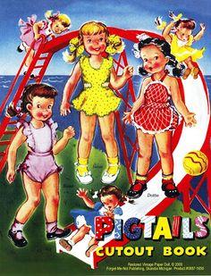 Paper Dolls~Pigtails - Bonnie Jones - Picasa Web Albums