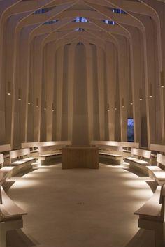 Bishop Edward King Chapel, Oxford. Niall Mclaughlin Architects