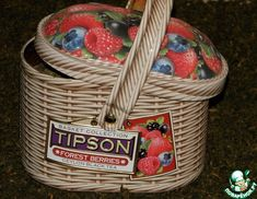 Рецепт: Фруктовый чай с ферментацией Smoothie Drinks, Smoothie Recipes, Picnic, Berries, Basket, Tea, Food, High Tea, Bays