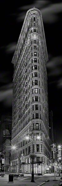 Flat Iron Building is considered to be the first skyscraper, New York, New York. 1901-1910 Architect: Daniel H. Burnham Date. 1901-1903 Location Manhattan, New York, New York - one of my fav buildings in NYC