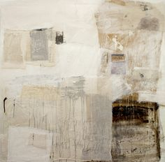"""""""White Tape,"""" original abstract painting by artist  Špela Trobec (Spain) available at Saatchi Art #SaatchiArt."""