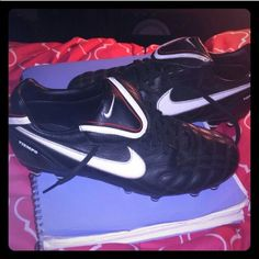 Nike Cleats Tiempo Nike cleats. In good condition like new. Nike Shoes Athletic Shoes