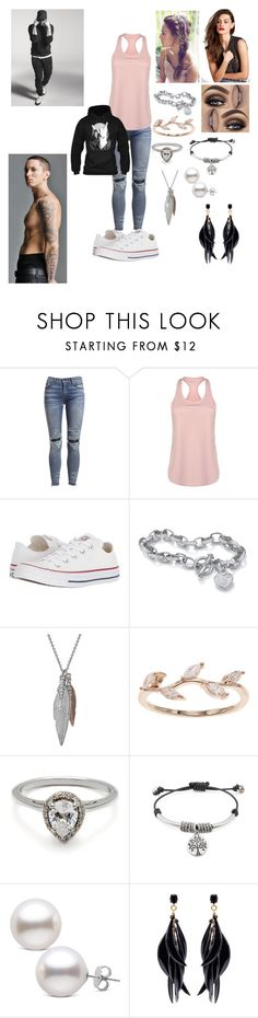 """""""Untitled #311"""" by calalilly15 on Polyvore featuring AMIRI, USA Pro, Converse, Palm Beach Jewelry, LC Lauren Conrad, Lizzy James and Oscar de la Renta"""