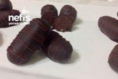 Şipşak Muhteşem Bisküvili Muzlu Cevizli Bonbonlar Tarifi Pasta, Cookies, Chocolate, Desserts, Food, Candy, Crack Crackers, Tailgate Desserts, Deserts