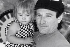 Sein letztes Instagram-Foto: Robin Williams (†63) mit seiner geliebten Tochter Zelda
