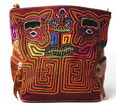 Panamanian Mola Handbag