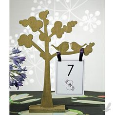 Top 5: Wedding Table Number Ideas & Trends