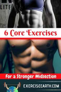 6 Core Exercises For A Stronger Midsection Lower Abs Workout Men, Six Pack Abs Workout, Ab Workout Men, Lower Ab Workouts, Best Core Workouts, Core Exercises, Stomach Exercises, Cardio Workouts, Weight Training Programs