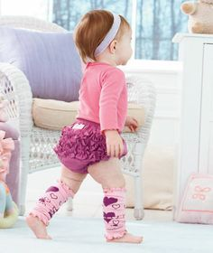 Ruffly Rumps™ Bloomers and Legwarmer Sets