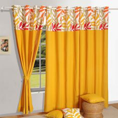Solid curtains are modern and simple. It is easy to match with any home decor interiors. Solid is classic but beautiful. Shop for #solid #curtains in our various range of colors. Cute Curtains, Drapes Curtains, Blackout Curtains, Windows And Doors, Home Accessories, Blinds, Interior Decorating, Flooring, Yellow