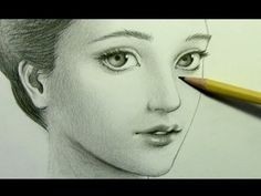 """▶ How to Draw a """"Realistic"""" Manga Face [pt. 2: Shading] - YouTube"""