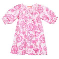 45518bd96b7 Sunuva Girls Lace Kaftan Dress - Bright Pink