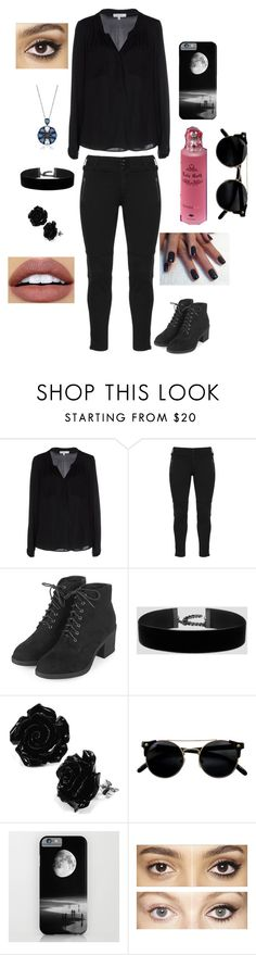 """Interview"" by ade-skulls ❤ liked on Polyvore featuring Milly, Topshop, NYX and Charlotte Tilbury"