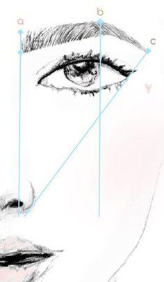 Resultado de imagen para eyebrow measuring tools