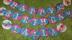 The Fresh Beat Band Medium Happy Birthday by brightness23 on Etsy, $29.99