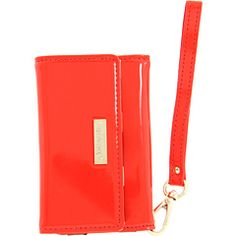 Kate Spade New York Spade Phone Wristlet Red - Zappos Couture