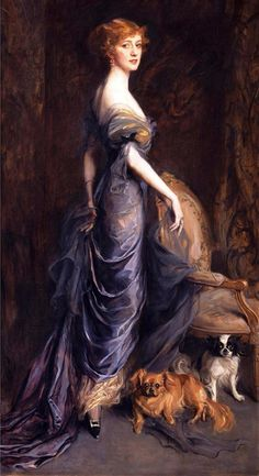 Mrs George Owen Sandys, 1915 (381x700, 304Kb)