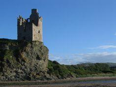 Greenan castle by Phil Williams - near to Greenan, South Ayrshire, Great Britain
