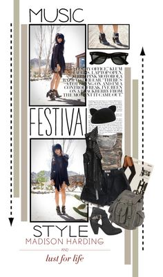 """""""Music Festival Style"""" by twiluv18 ❤ liked on Polyvore"""
