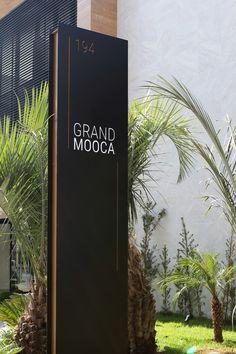 Wayfinding Signage, Signage Design, Street Marketing, Design Stand, Design Design, Standing Signage, Office Wall Design, Architecture Concept Diagram, Modern Apartment Decor