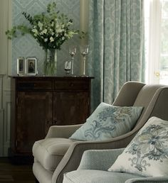 Take a seat with the Laura Ashley 2014 Interiors Collection: Operetta