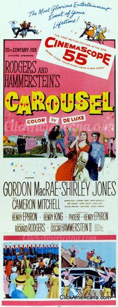 Shirley Jones & Gordon MacRae in Carousel (1956)