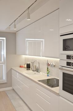 Kitchen Lighting Ideas for Any Styles, Newest ! - Kitchen Lighting Ideas for Any Styles, Newest ! – Avionale Design Look into our gallery including 46 Inspiring Kitchen Lighting Ideas as well as discover the inspiration for your kitchen! Kitchen Remodel, Kitchen Design, White Modern Kitchen, Kitchen Cabinet Design, White Kitchen Design, Home Decor Kitchen, Kitchen Room Design, Kitchen Interior, Minimalist Kitchen