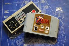 N64 Zelda Cart Soap: Retro and geeky Handmade by NerdySoap on Etsy
