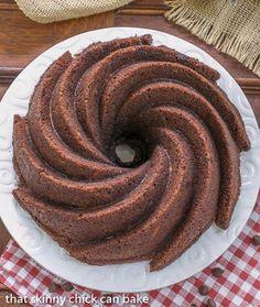 Chocolate Zucchini Cake | The secret ingredient creates a moist, tender, marvelous cake! @lizzydo