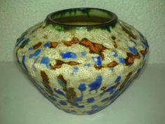 Vase unknown Studio Pottery * URANGLASUR* H: 9 cm * Mid Century ? 60s 70s ? LOOK