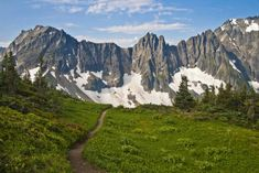 Cascade Pass & Sahale Arm, on the 6 mi. Sahale Glacier Trail, WA   /   oiys